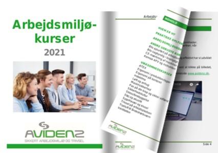 Arbejdsmiljøkurser 2021